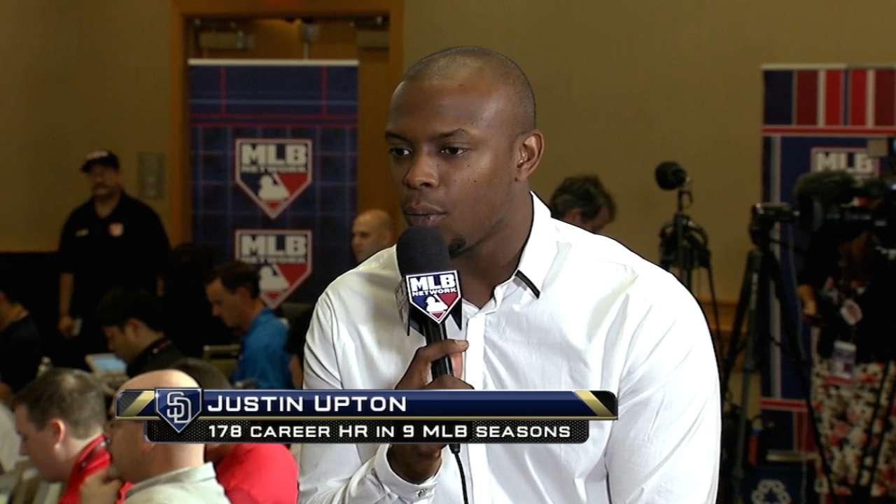 Justin Upton joins The Rundown