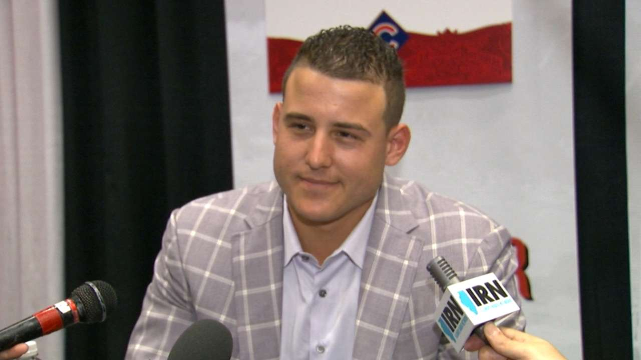 Rizzo, Bryant dreaming of Wrigley in October