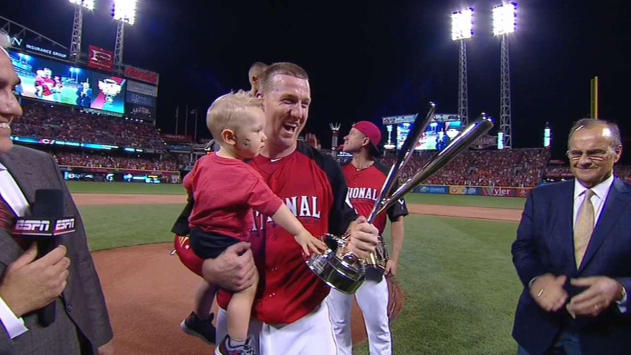 Frazier on home run title