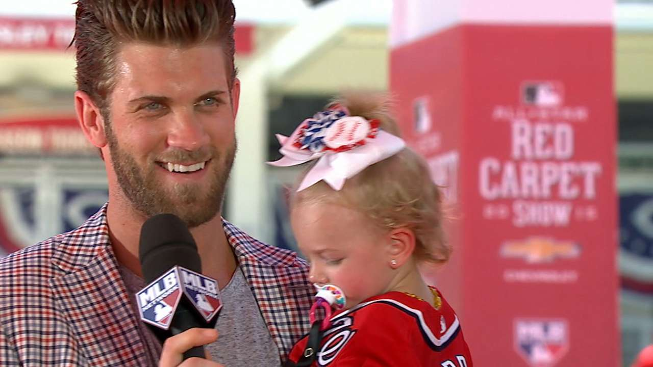 Harper joins Red Carpet Show