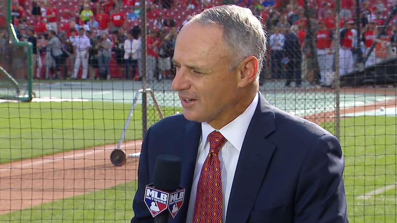 Manfred at the All-Star Game