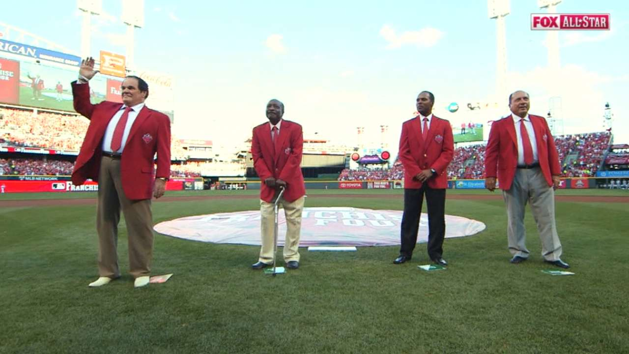 Reds' Franchise four announced