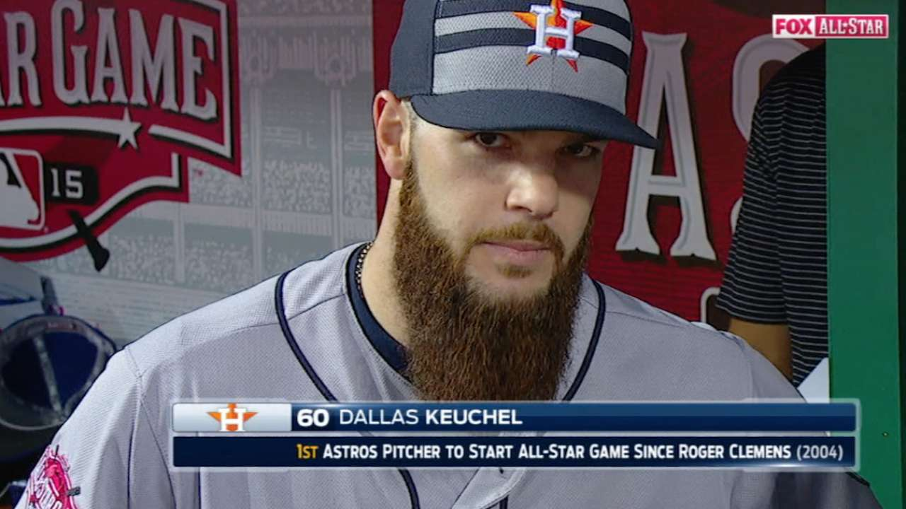 For starters, Astros duo savors All-Star honor