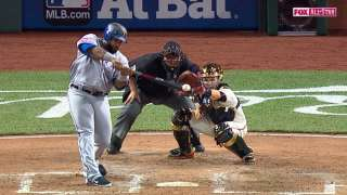 2015 ASG: Fielder plates Trout with a single