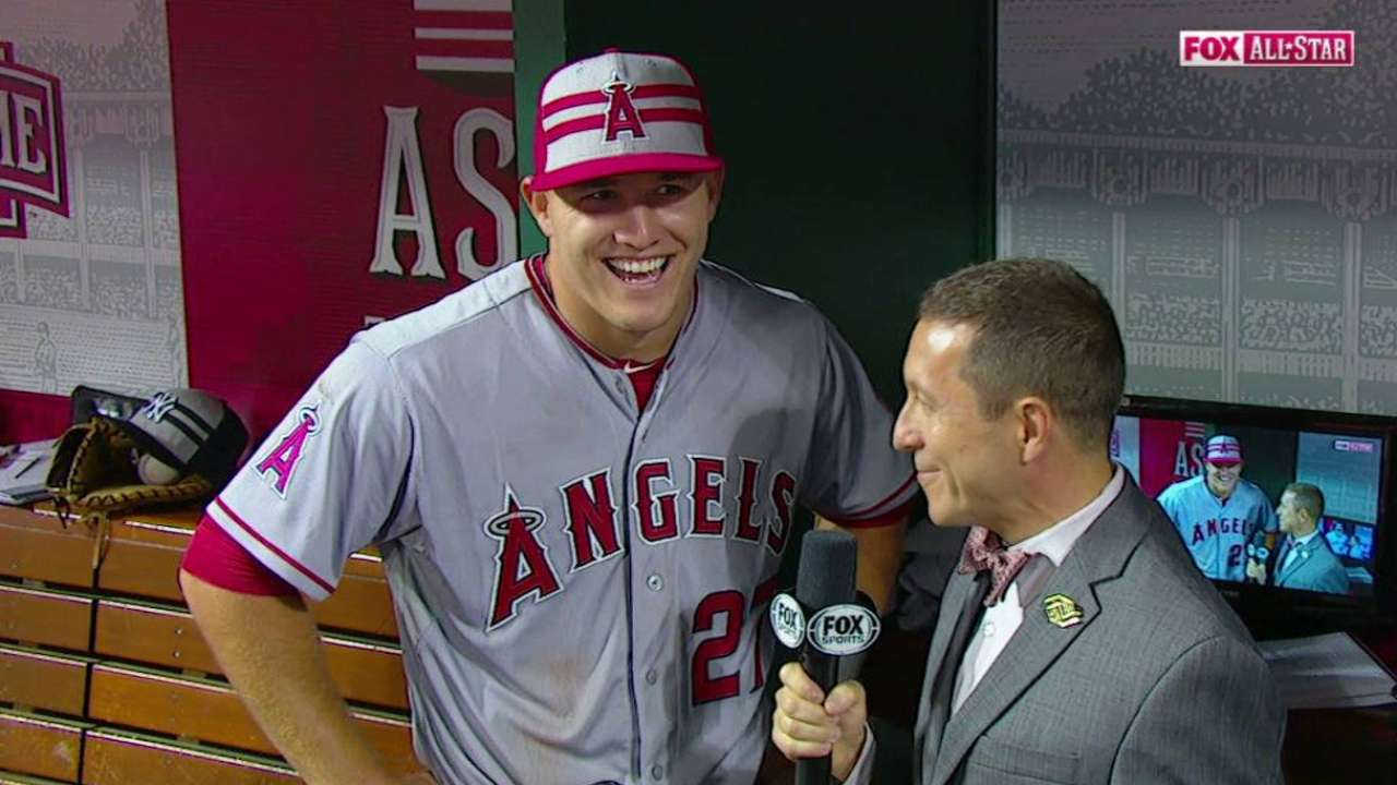 Trout won 2nd straight MVP honor in 2015 ASG