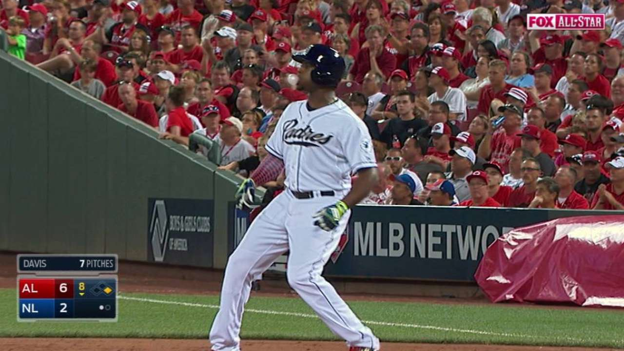 Upton produces in late All-Star Game at-bat