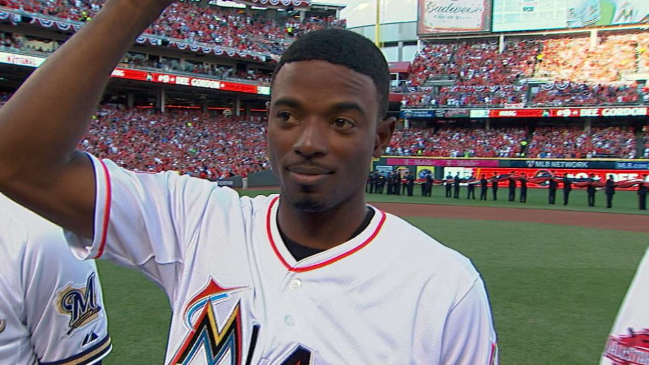 Gordon introduced at ASG