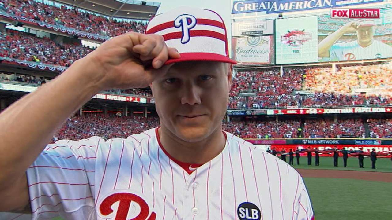 Papelbon happy to impart All-Star wisdom
