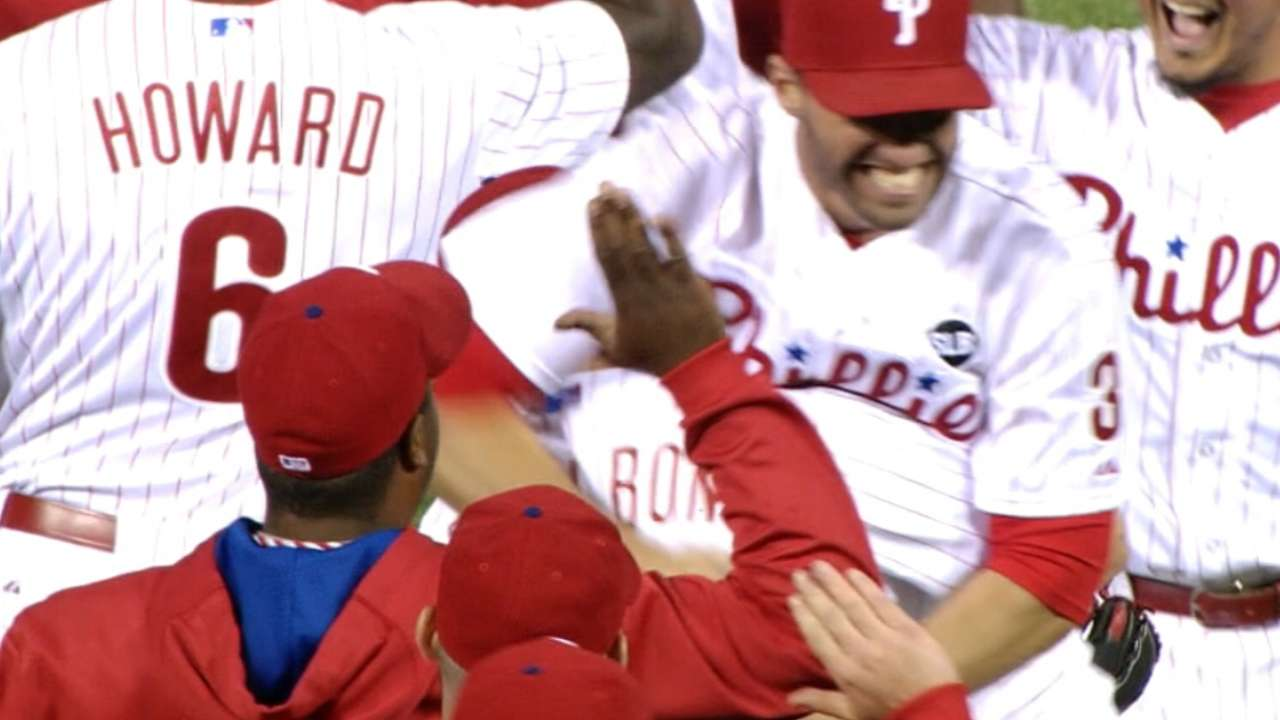 Amid changes, Phils' youngsters the bright spot