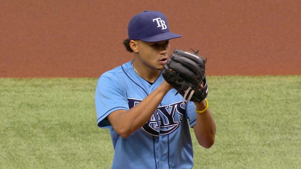 Archer, fill-ins have Rays in tight division race