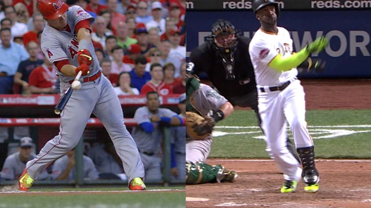 Leadoff hitters homer in ASG