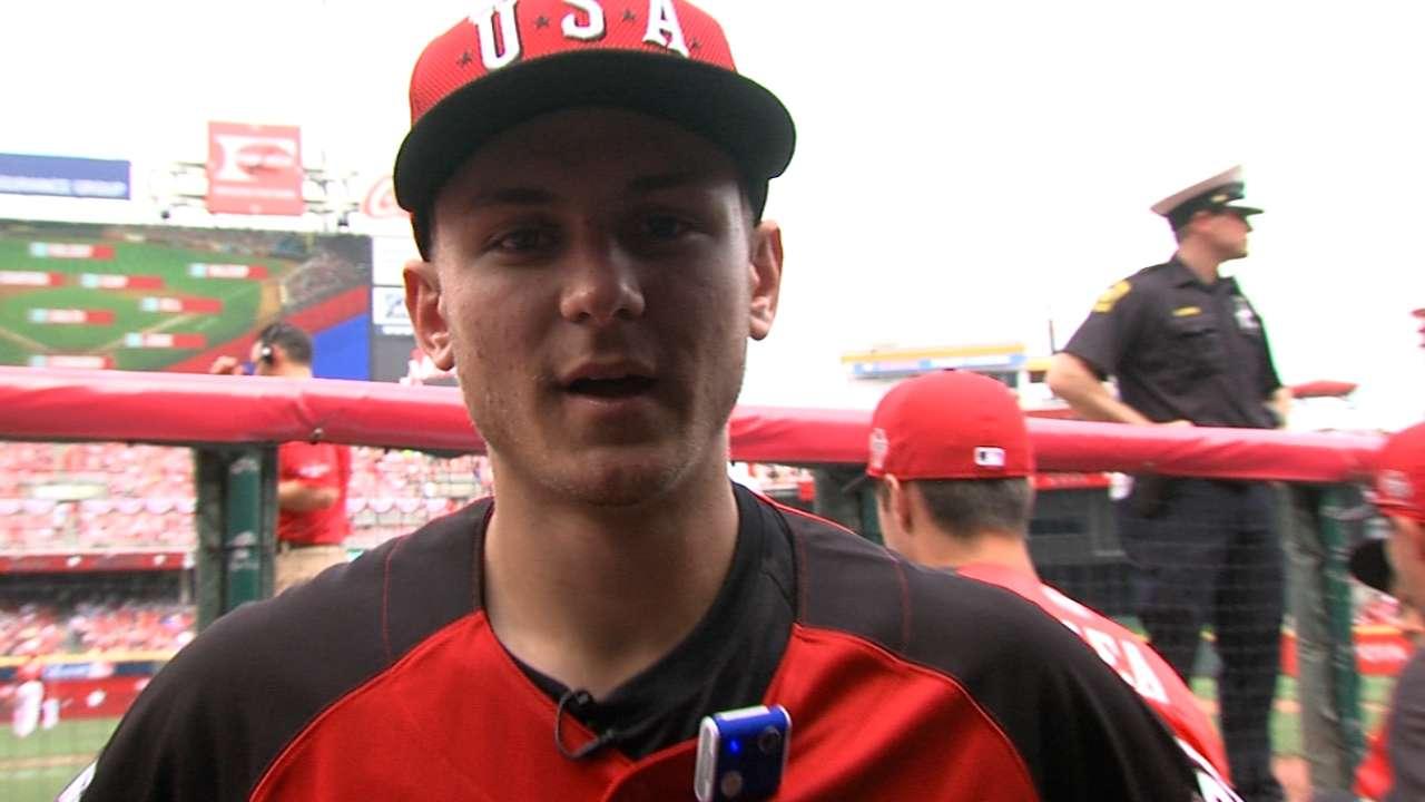 Nationals prospect Turner impresses Werth