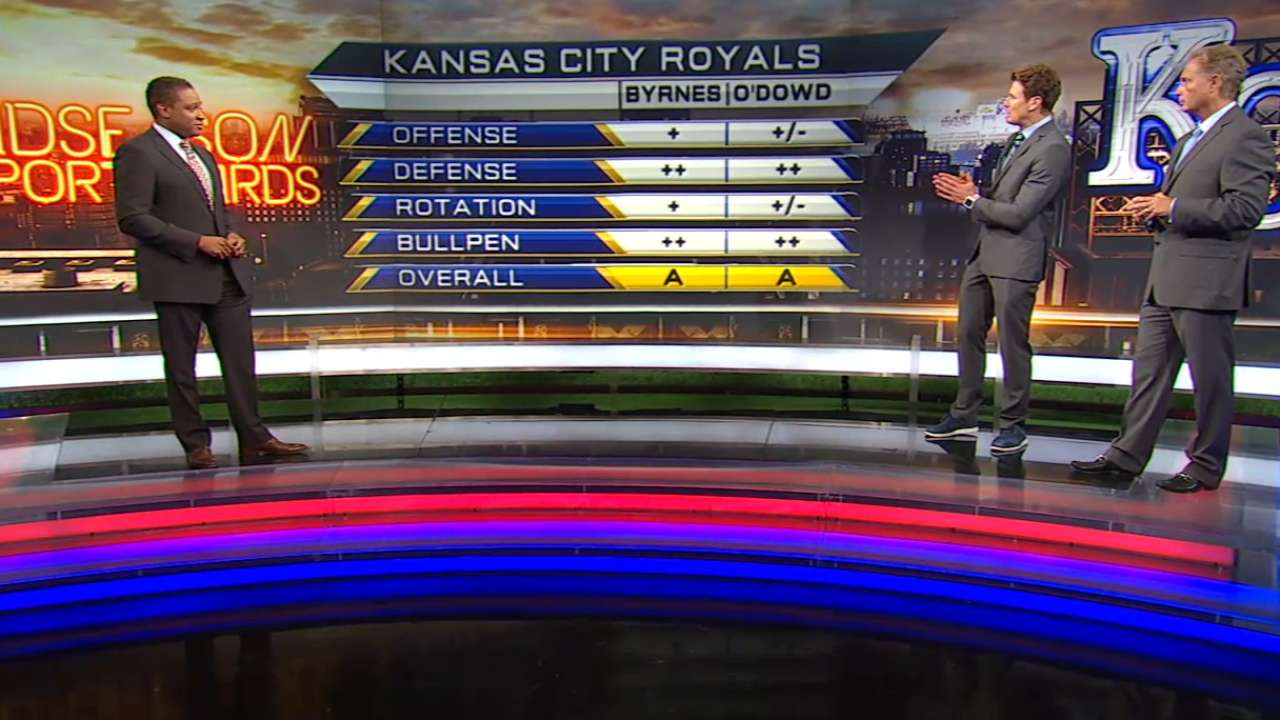 MLB Tonight report card: Royals