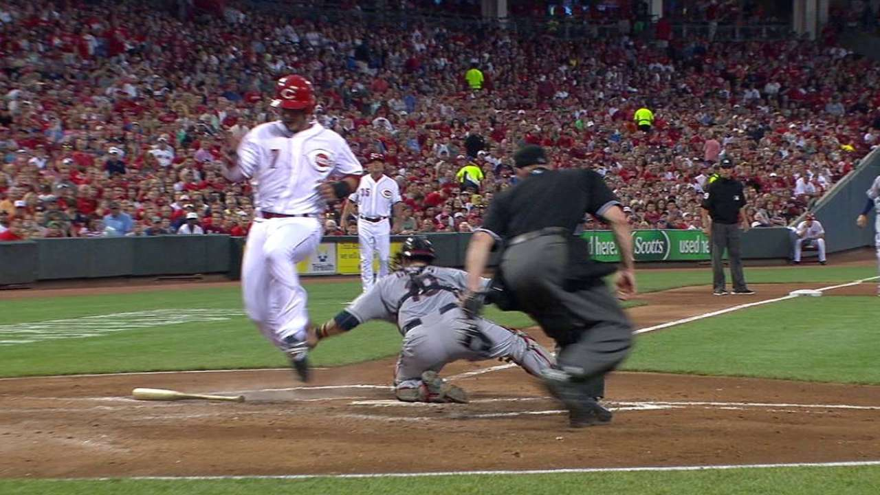 Leake brings it with arm and bat