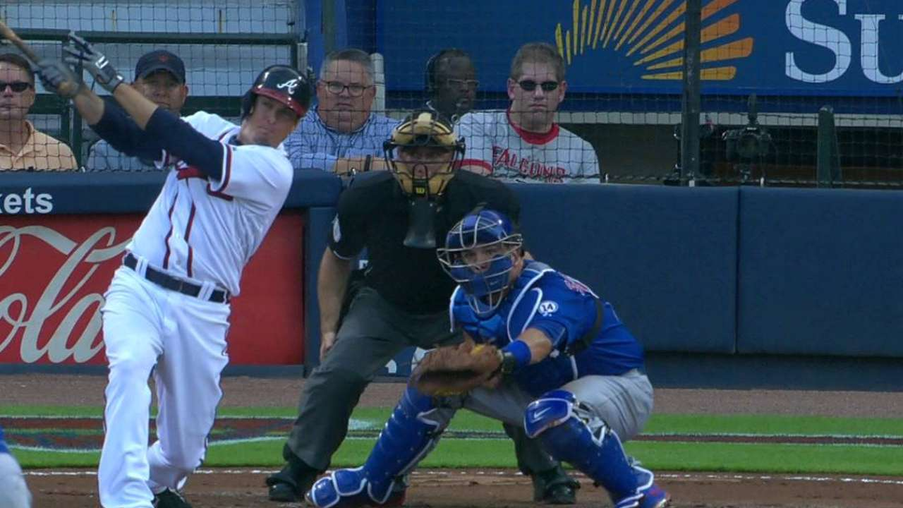 K. Johnson's RBI single