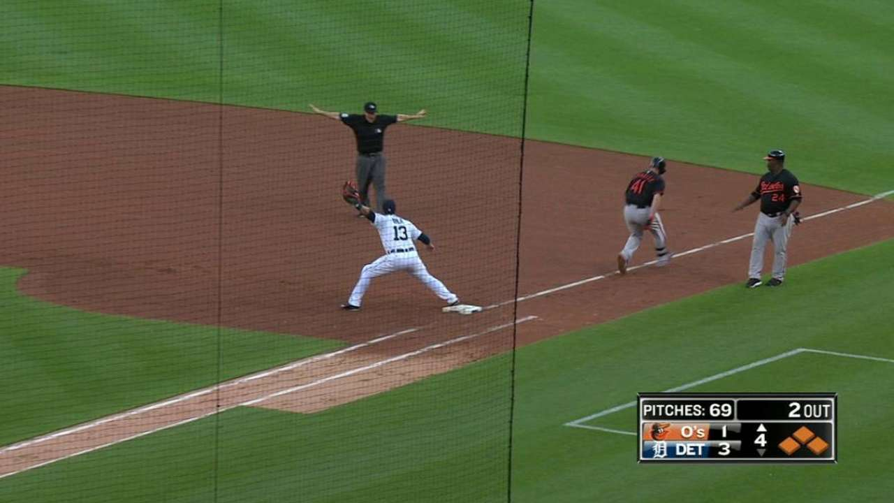 Parmelee's RBI groundout
