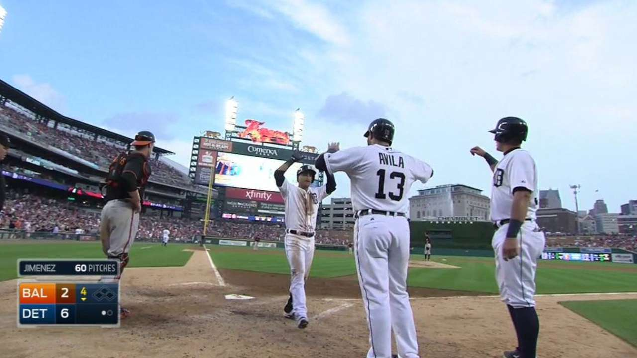 Tigers storm out of break, overpower O's