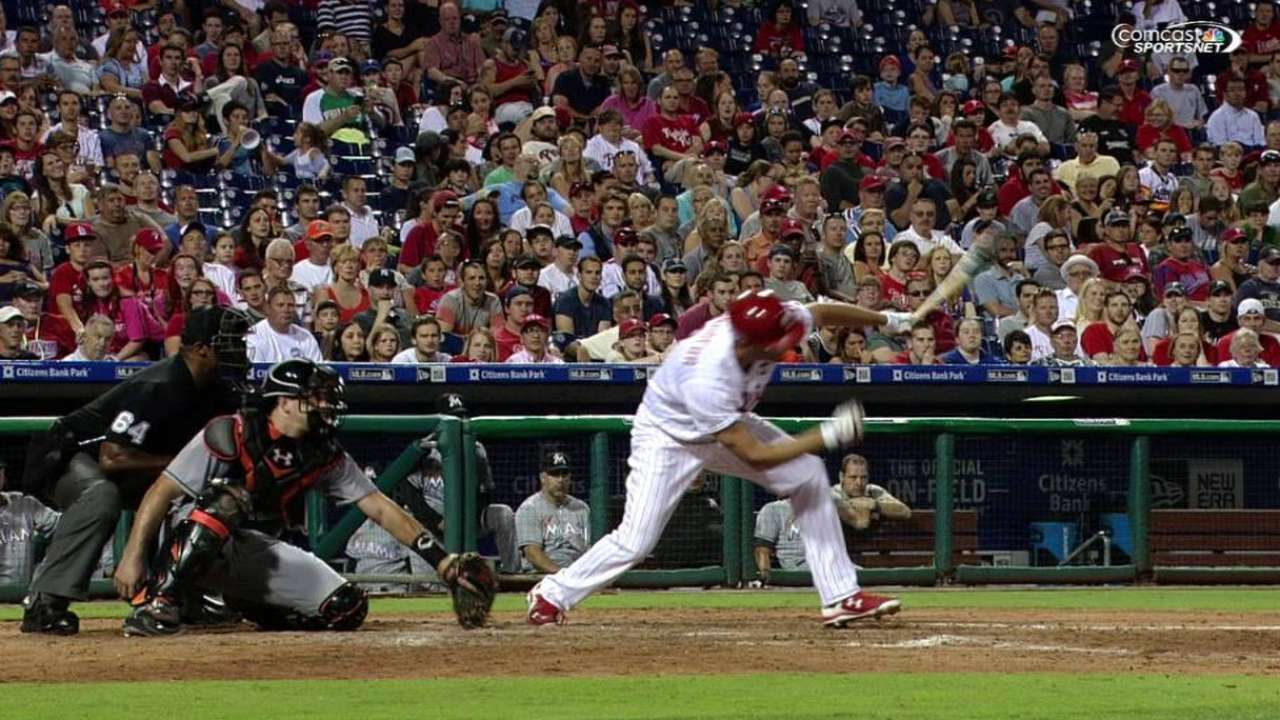 Francoeur's three-run homer