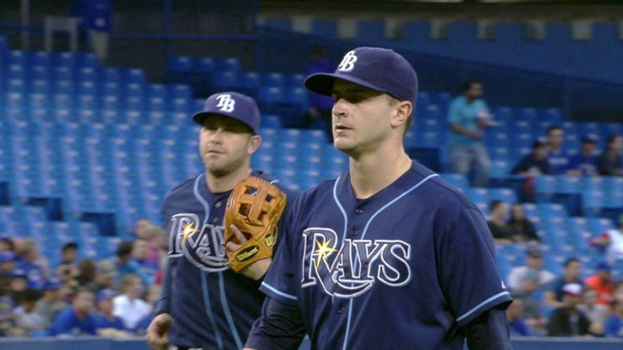 5th-inning woes sink Odorizzi vs. Blue Jays