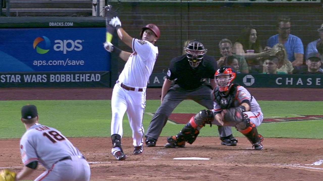 Peralta's go-ahead triple