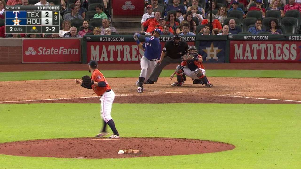Big hit continues to elude Rangers