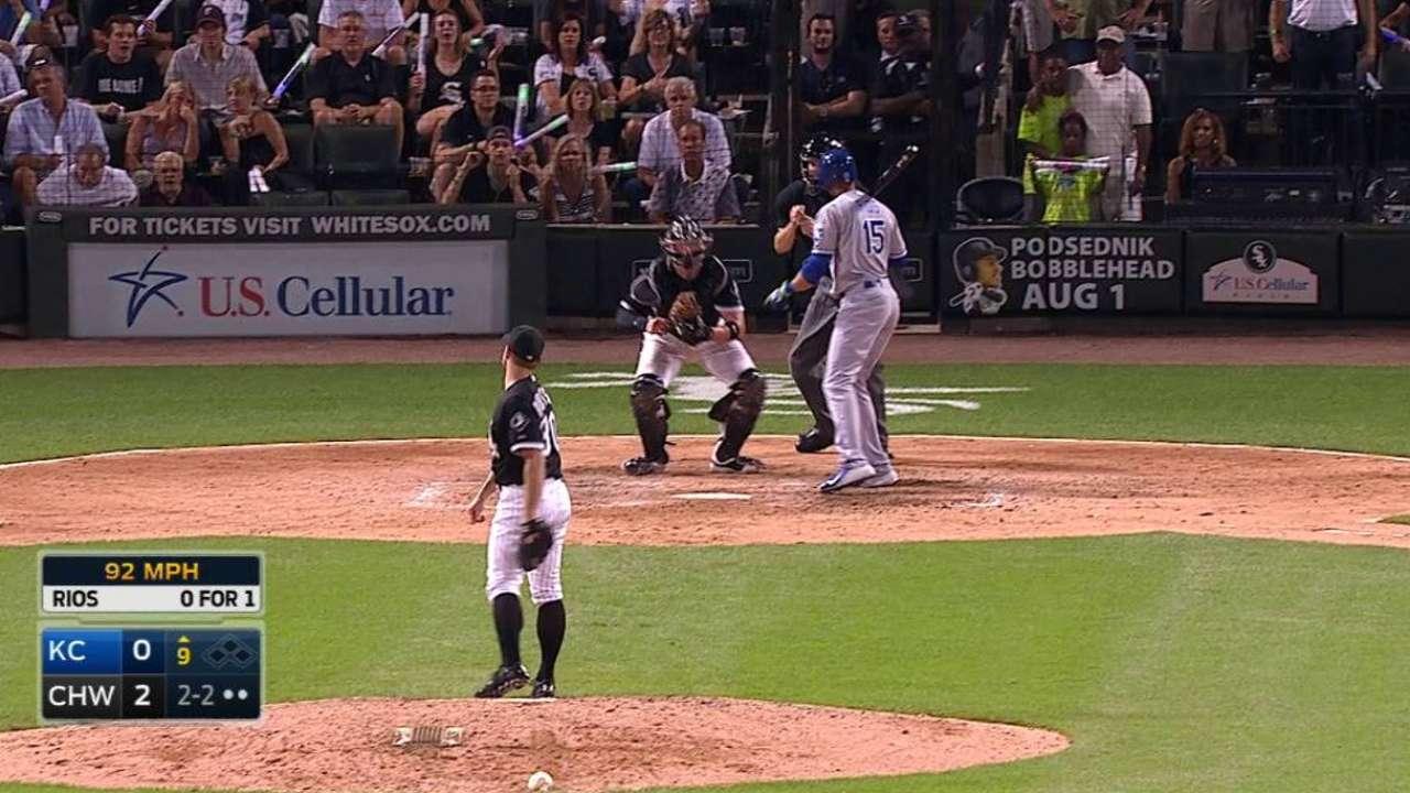 White Sox bullpen zeros in behind Danks