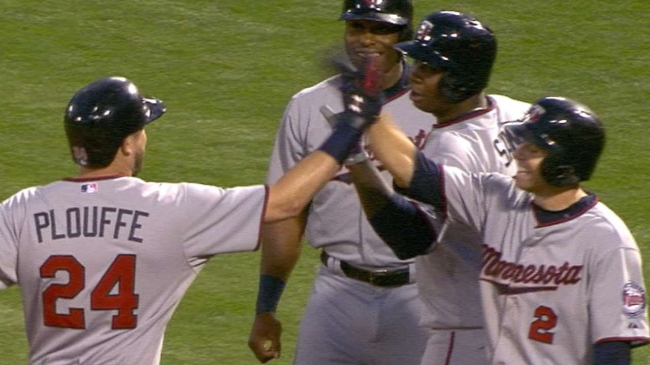 Plouffe's grand slam