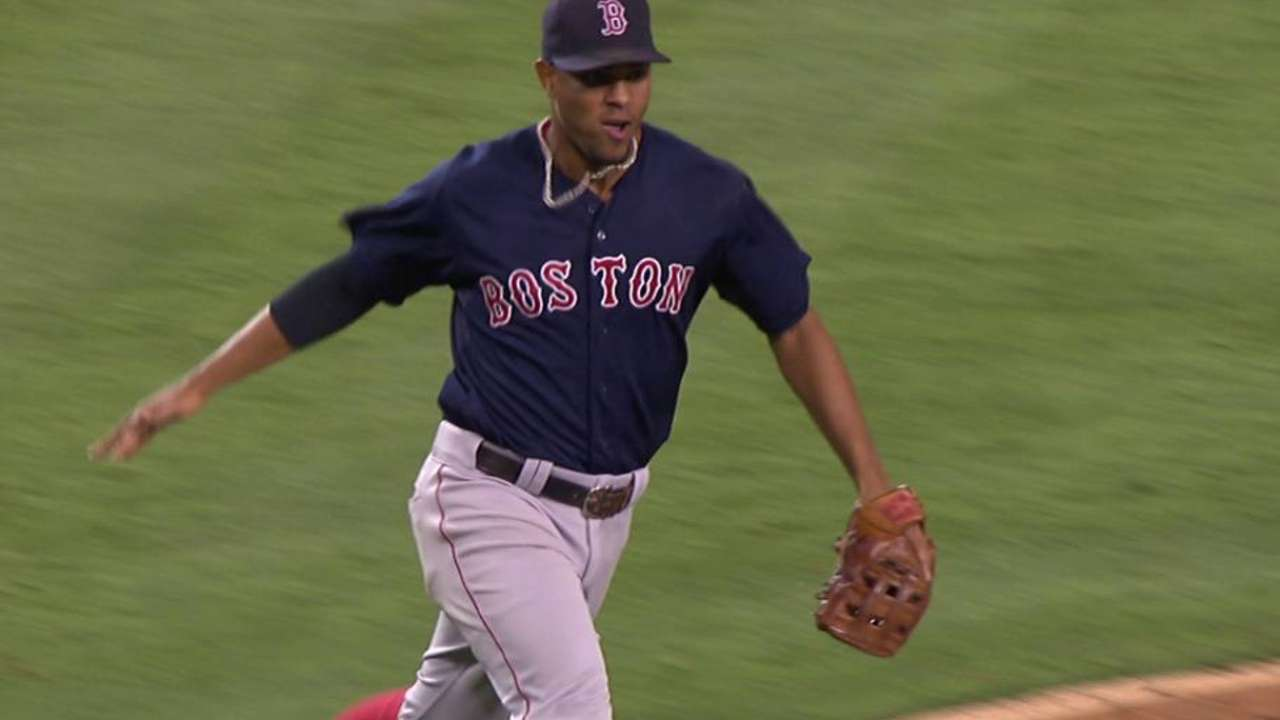 Bogaerts' great play