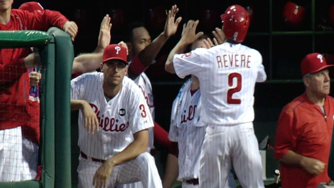 Phils capitalize on miscues
