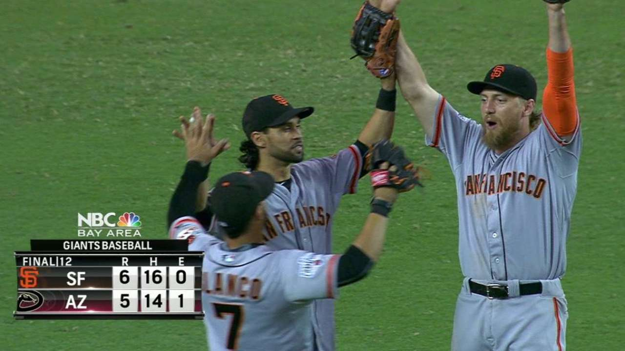 Back in the 'pen, Vogelsong locks down win