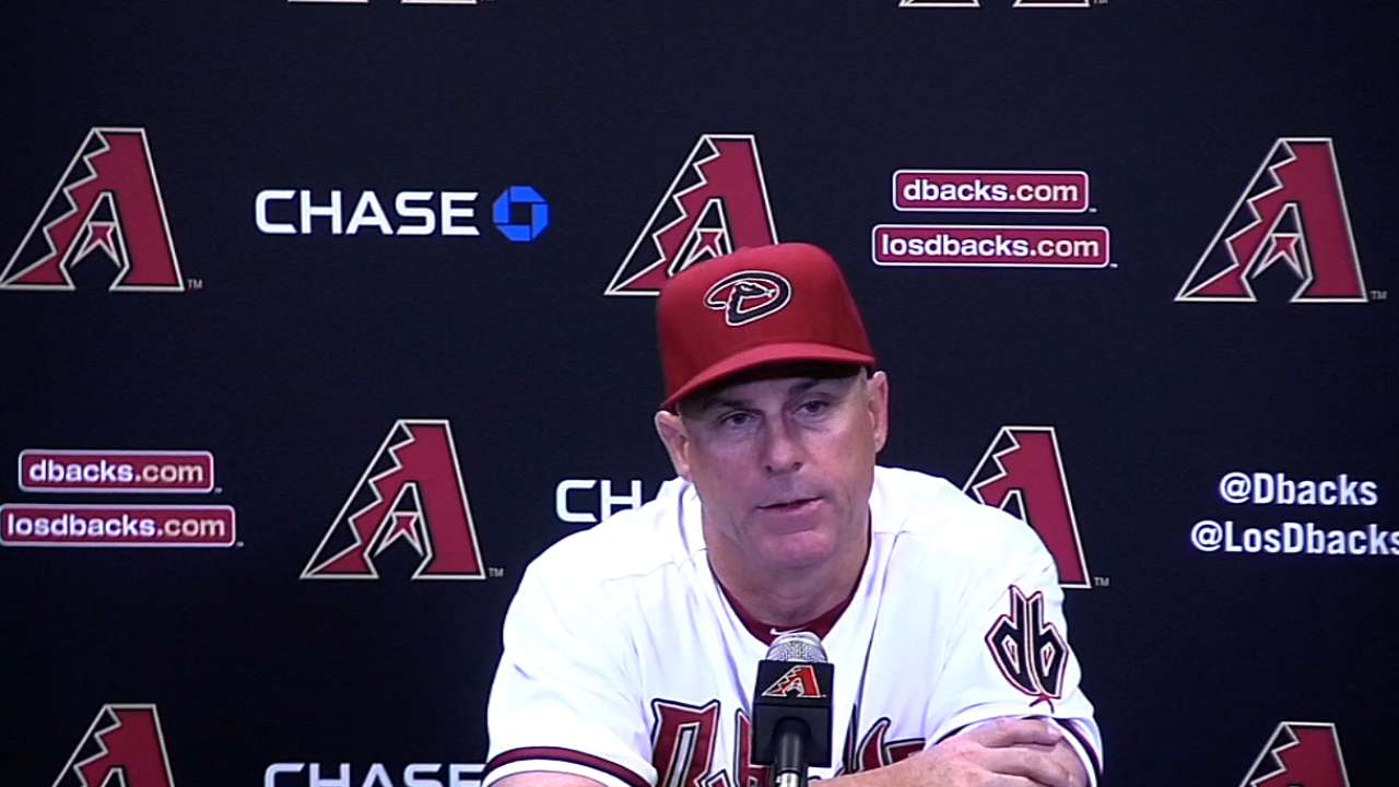 Hale on D-backs' loss
