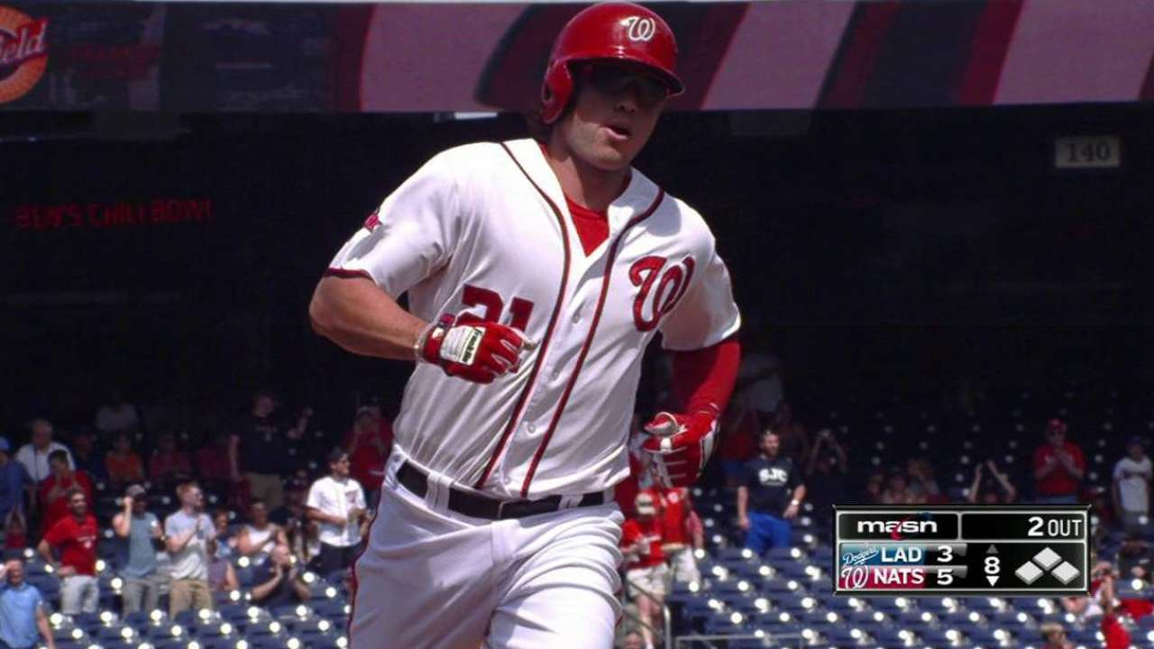 Nats take suspended game on late home run