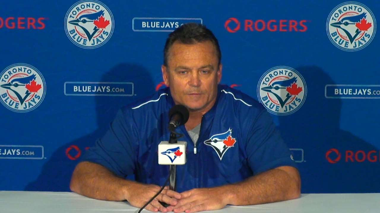 Gibbons talks loss to Rays