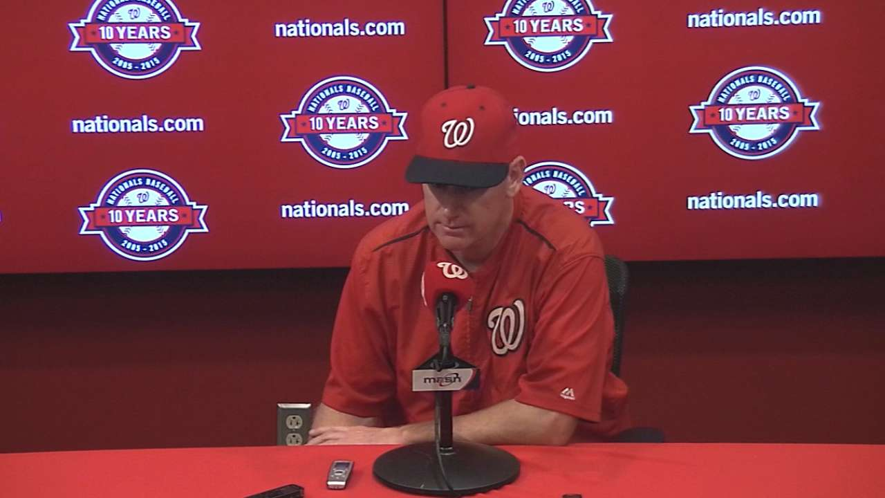 Williams on loss to Dodgers