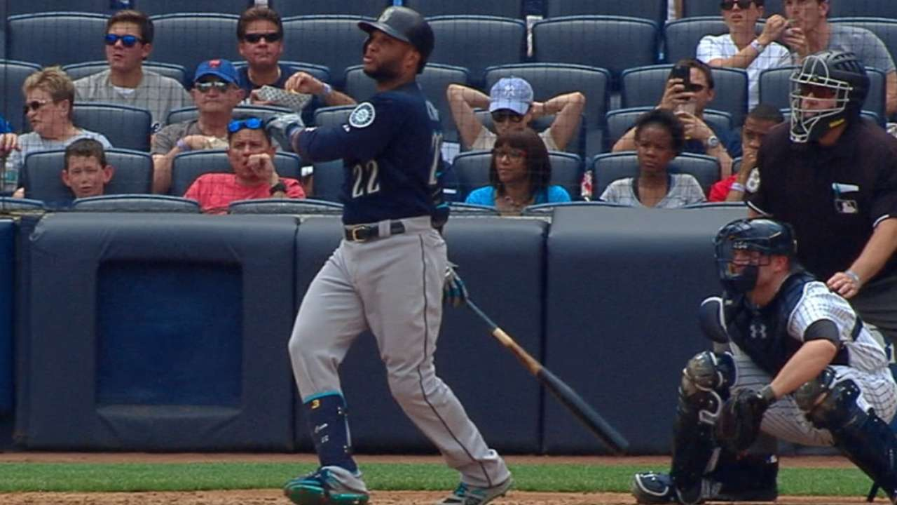 Cano's homers help Mariners even set with Yankees
