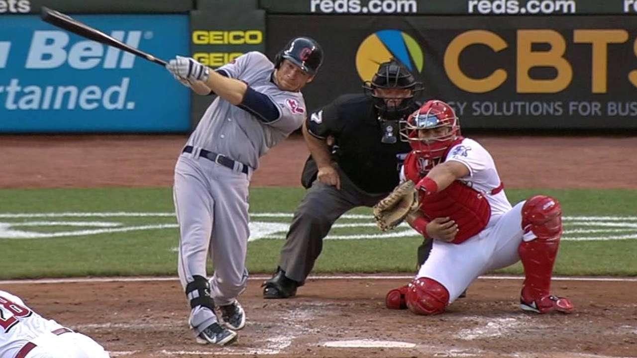 Moss' two-run homer