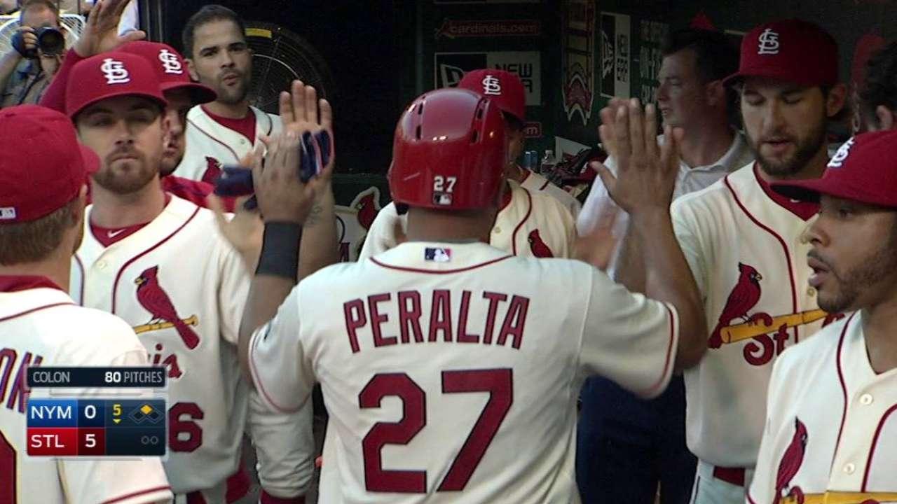 Heyward pega cinco hits en paliza de S.L. ante Mets
