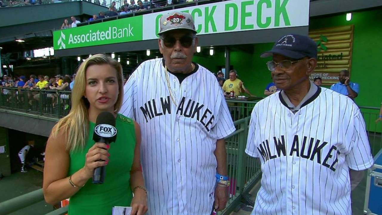 Crew hosts 10th annual Negro Leagues Game