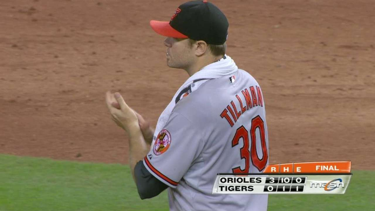 Tillman tames Tigers to outduel Price