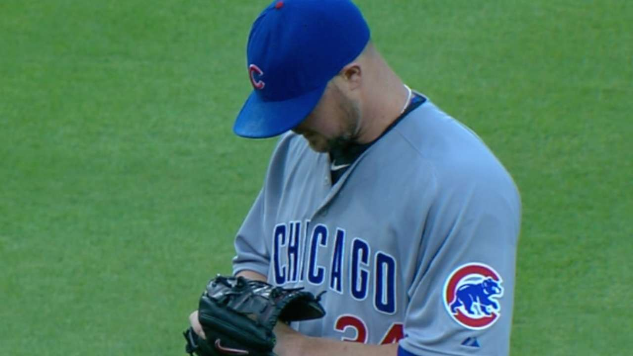 Lester flirts with no-hitter