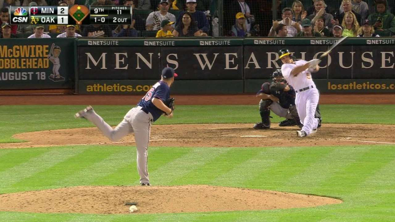 Perkins' perfect record ends with blown save