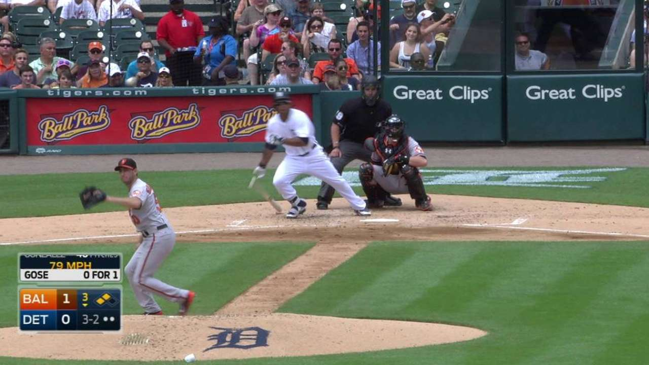 Gose's RBI single