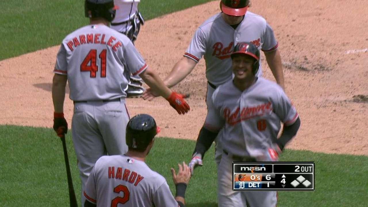 Orioles le caen a Justin Verlander y apalean a los Tigres