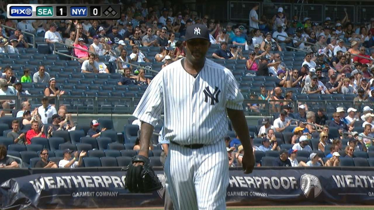 Sabathia goes six solid