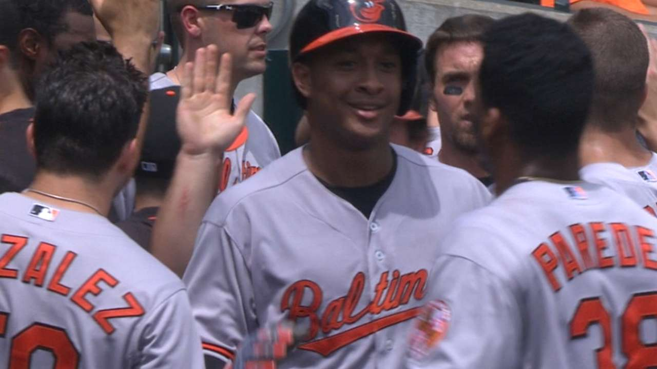 And so 4th: O's bats bust out in 6-run inning
