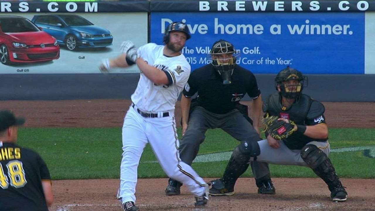Peterson's two-run double