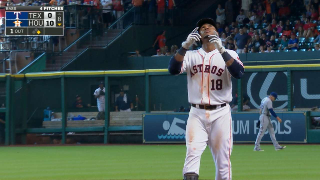 Valbuena's four-hit game