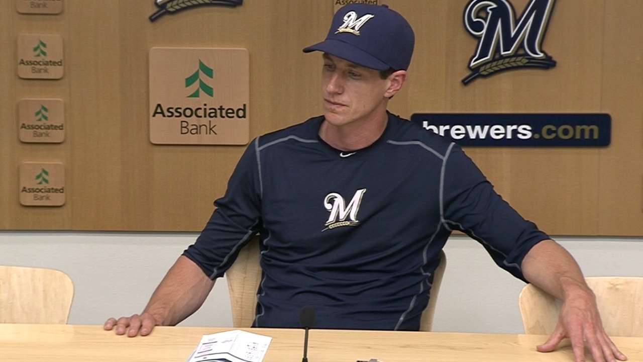 Craig Counsell on Pirates sweep