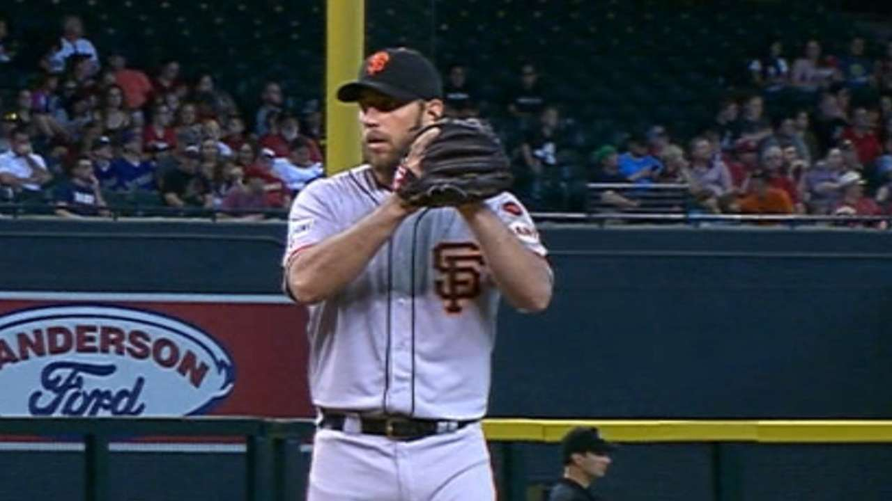 Bumgarner's solid outing