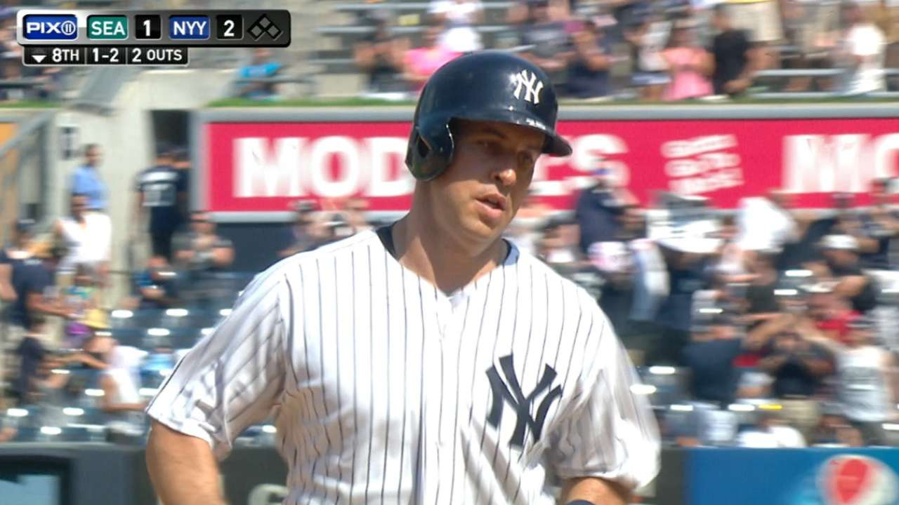 Teixeira's go-ahead shot spurs Yanks over M's